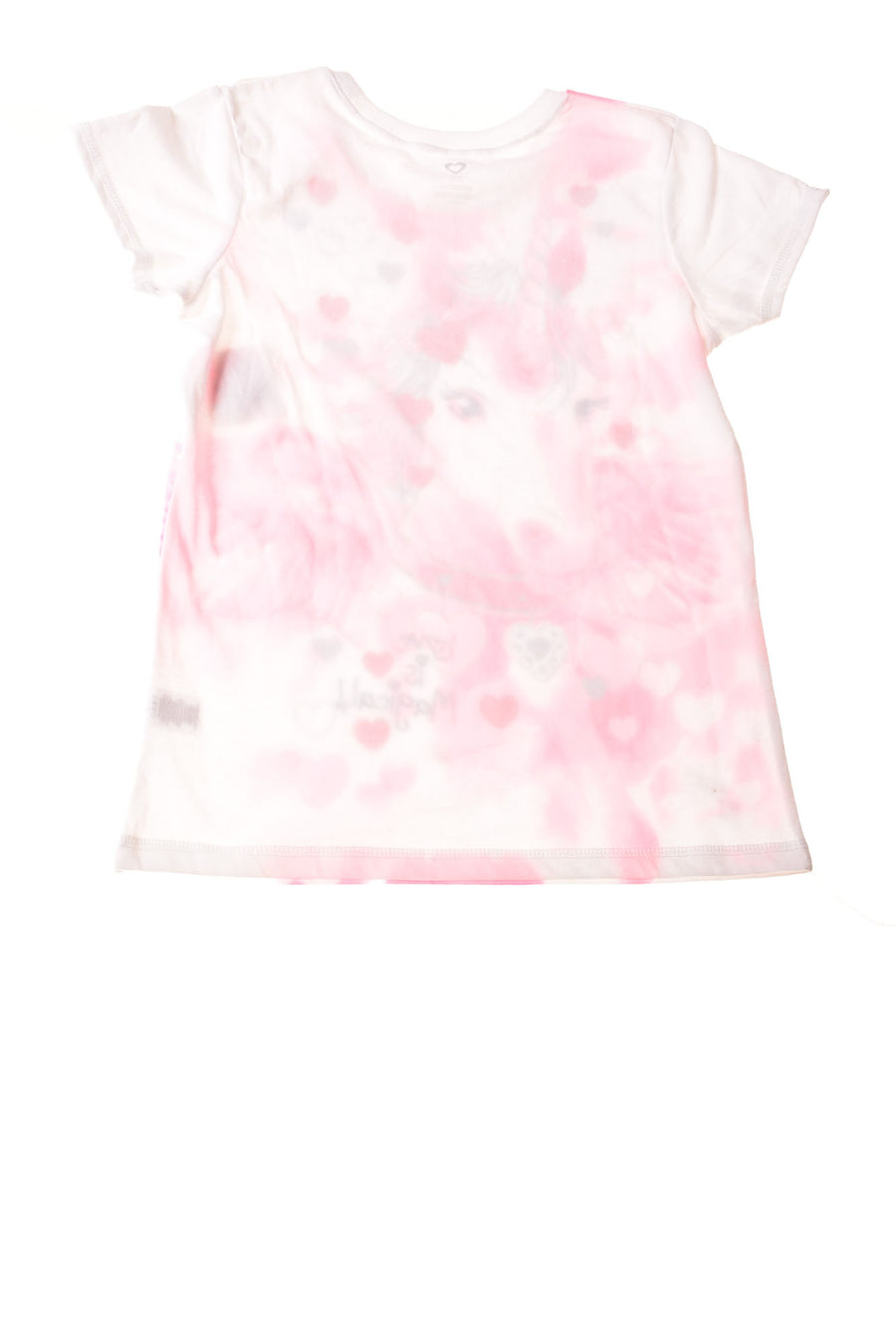 NEW No Brand Girl's Top 10-12 Pink & White & Red