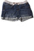 USED Justice Girl's Shorts 14.5 Blue