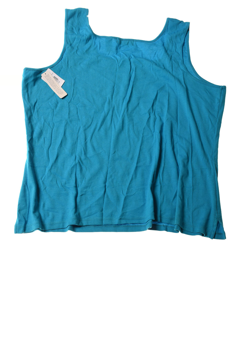 USED Kate Hill Women's Plus Size Top 2X Blue
