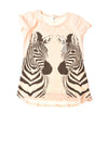 NEW Old Navy Girl's Top X-Large Tan / Print
