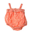 USED Old Navy Baby Girl's Outfit 3 Months Orange & White