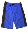 USED Old Navy Boy's Shorts Medium Blue & Black
