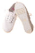USED Faded Glory Girl's Shoes 2 White
