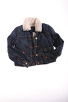 USED Gap Kids Girl's Jean Jacket Medium Blue