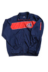 USED Gill Banks Men's Red Sox Jacket Large Red, White, & Blue