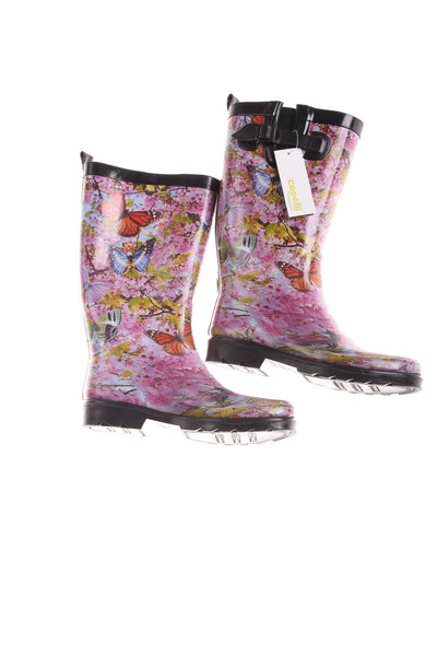 USED Capelli Women's Boots Pink, Yellow, & Orange 9