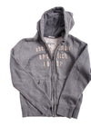 USED abercrombie kids Boy's Sweater Gray & Tan X-Large
