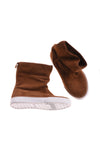 USED Gap Girl's Boots Brown & White 11