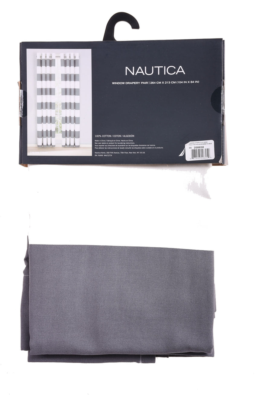 Pair Of Drapes By Nautica