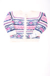 NEW Oshkosh Baby Girl's Sweater 18 Months Blue, Pink, & White