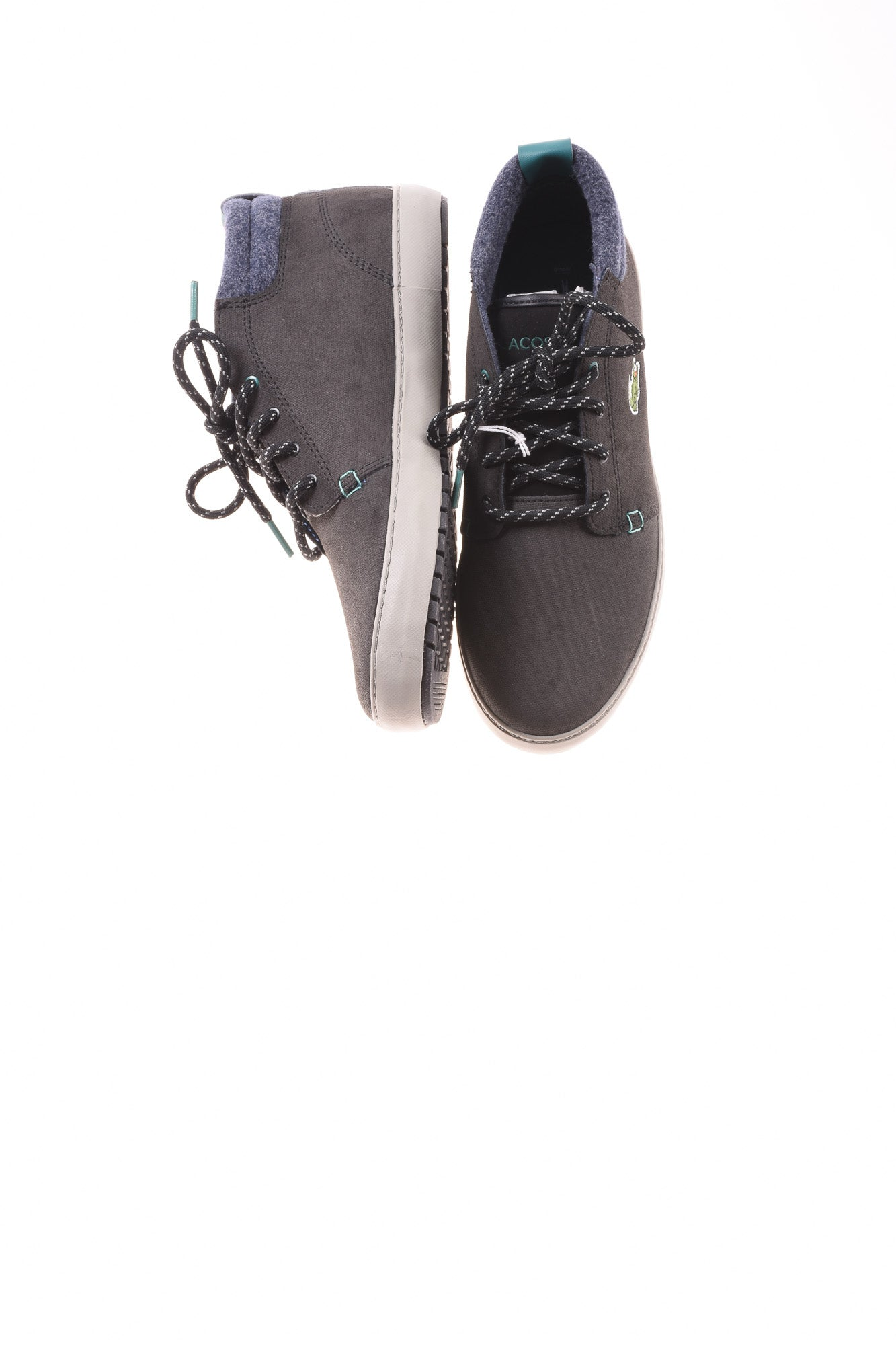 a646111e6 USED Lacoste Women s Shoes 7.5 Gray - Village Discount Outlet