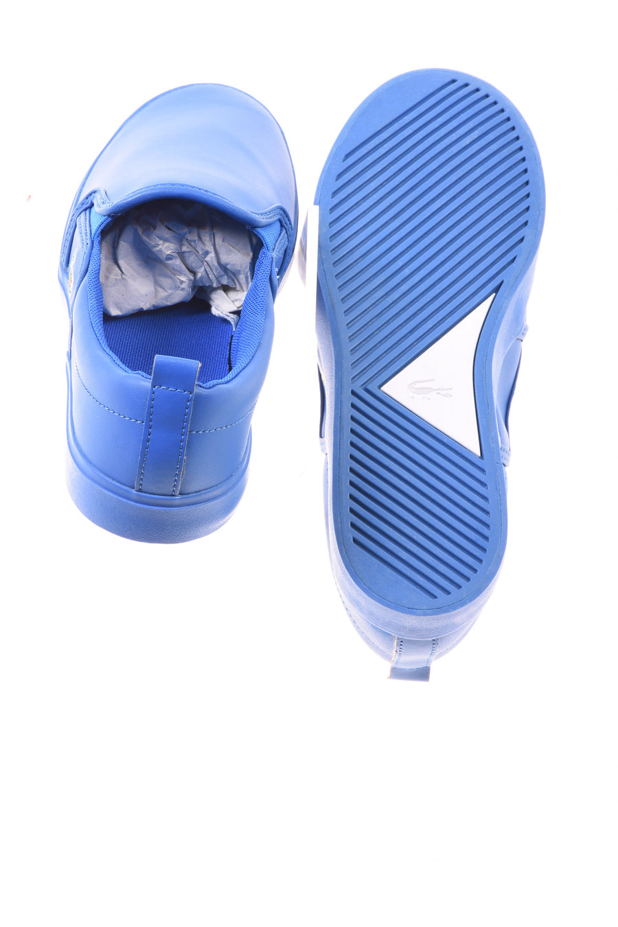 USED Lacoste Boy's Shoes 4 Blue