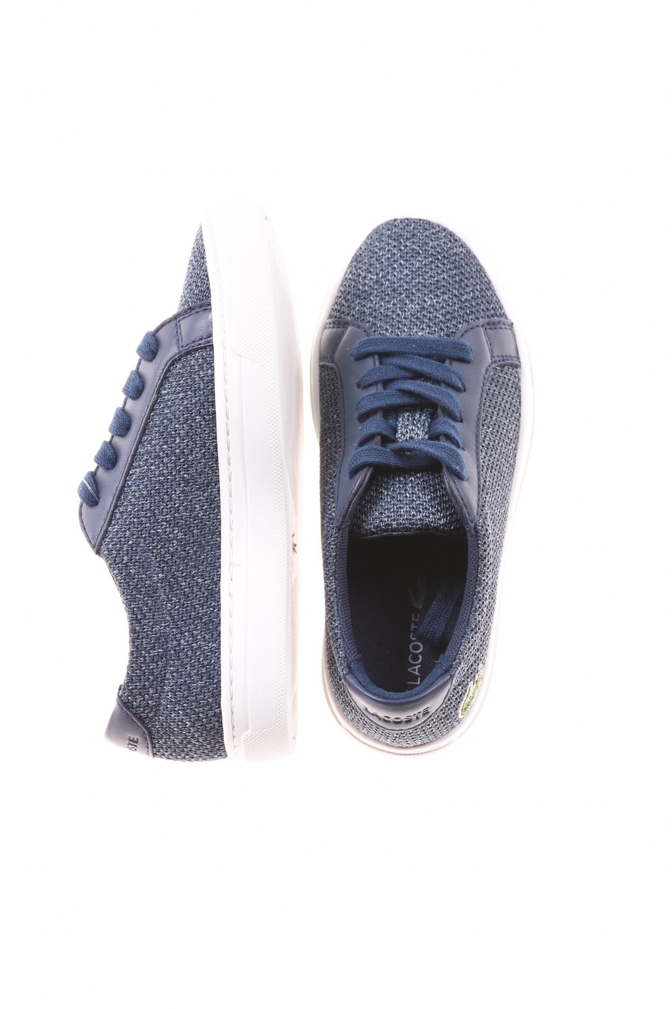 2fc34e152 USED Lacoste Toddler Boy s Shoes 12 Blue - Village Discount Outlet