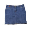 USED Lands' End Women's Skirt 16 Blue