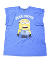 USED Minion Made Men's Shirt X-Large Blue