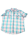 NEW Wrangler Women's Shirt X-Large Blue, Pink, & White