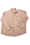 USED Duluth Trading Men's Shirt X-Large Tan