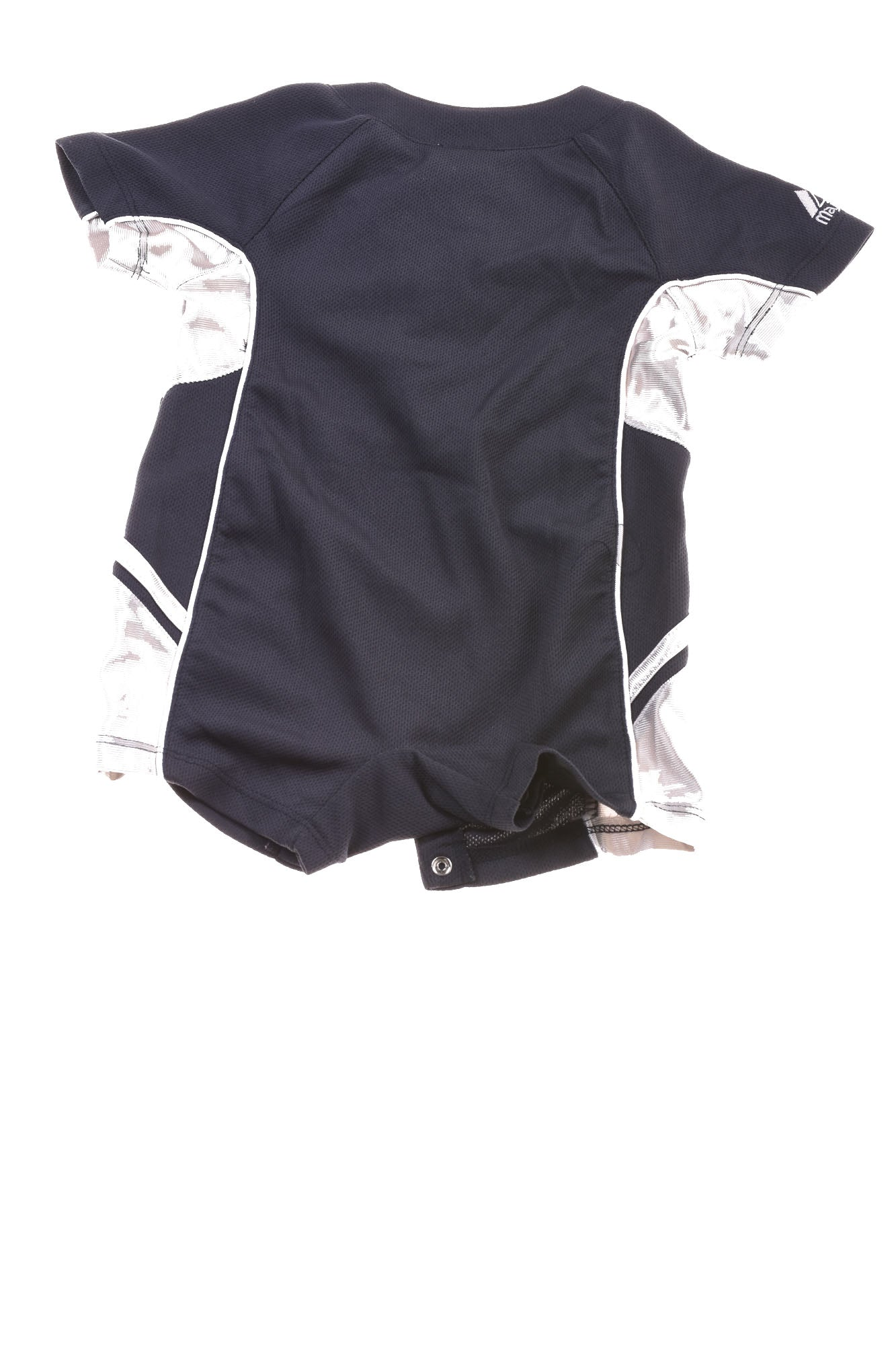 USED Majestic Baby Boy s New York Yankees Body Suit 6 9 Months Blue