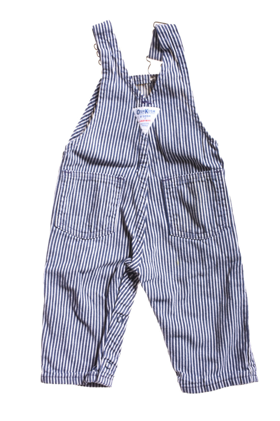 USED OshKosh Baby Boy's Overall Pants 6-9 Months Blue & White