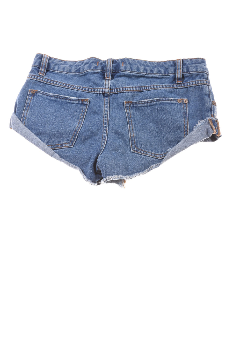 USED Free People Women's Shorts 24 Blue