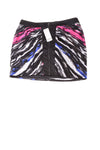 NEW Bebe Women's Skirt X-Small Black, Pink, & White