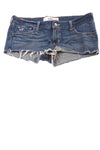 USED Hollister Women's Shorts 28 Blue