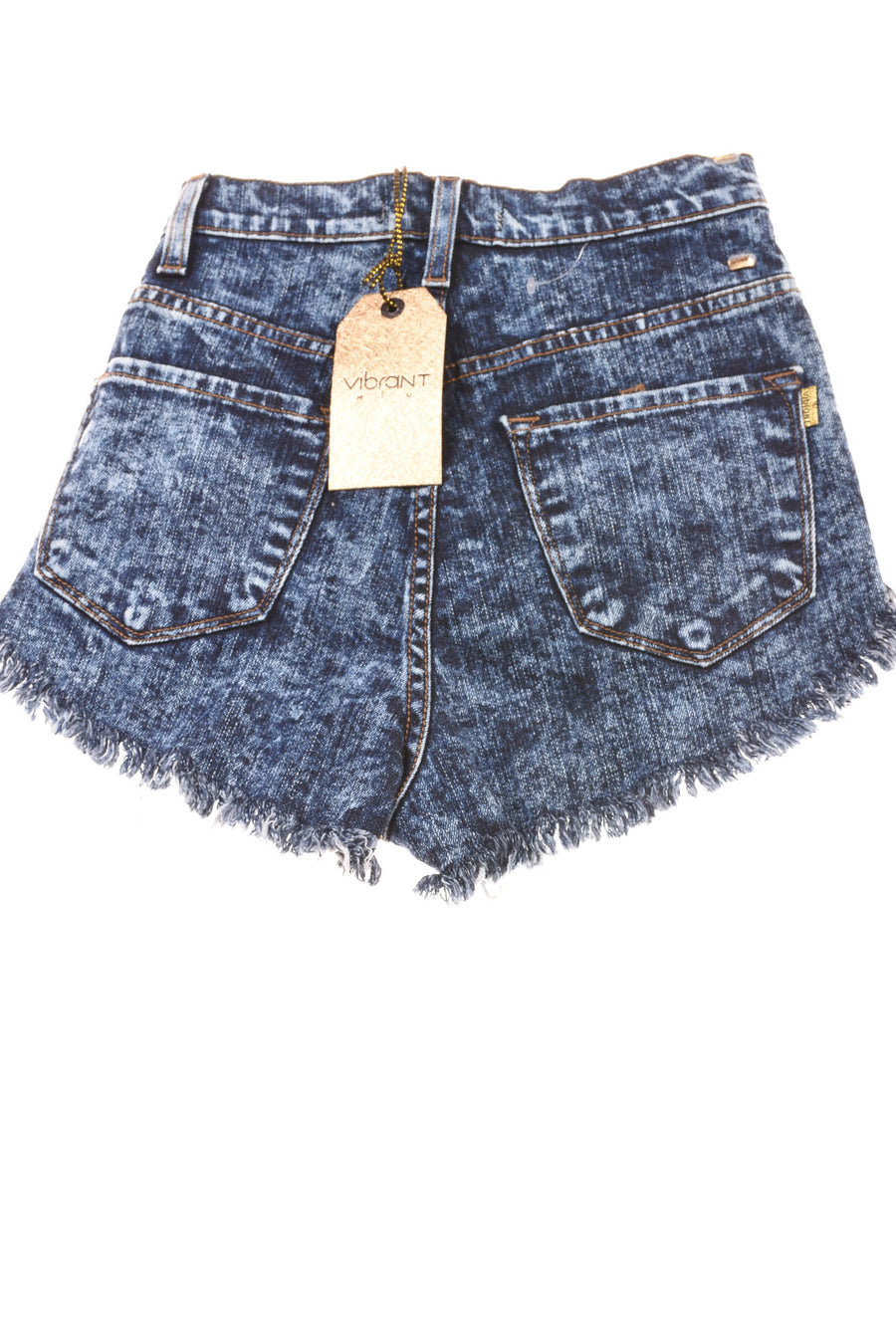 NEW Vibrant Women's Shorts Small Blue