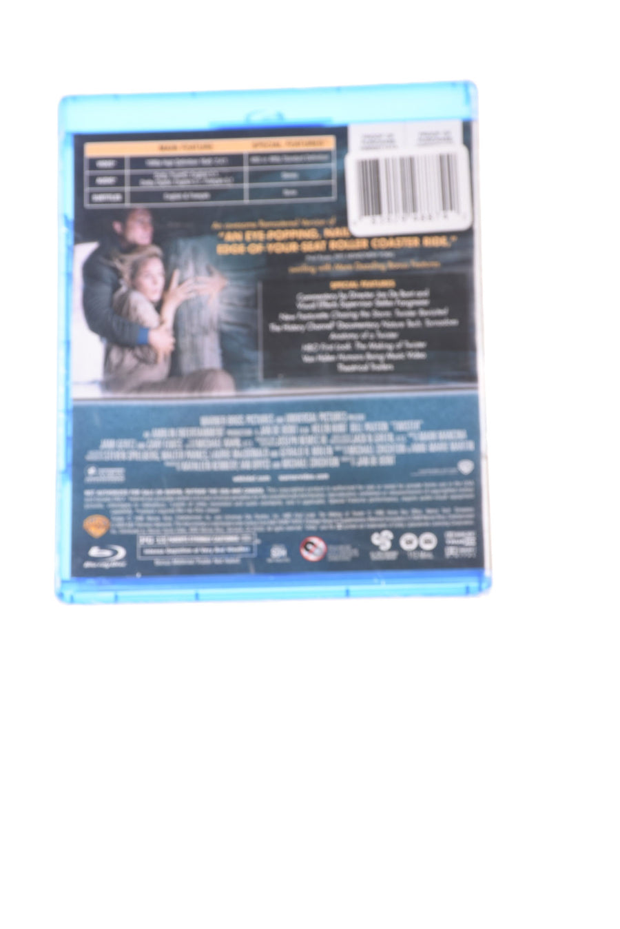 NEW Warner Bros Twister Blue Ray N/A N/A