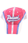 NEW Mega Sport Women's Hat N/A Pink, Blue, White