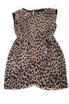 USED H&M Women's Dress 10 Brown & Black