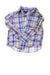 USED Ralph Lauren Girl's Top Small Blue, Yellow, & Purple