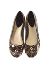USED Vera Wang Women's Shoes 7.5 Black & Gold