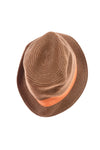 USED Chatties Women's Hat One Size Brown & Orange