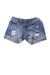 USED Lucky Brand Girl's Shorts 8 Blue