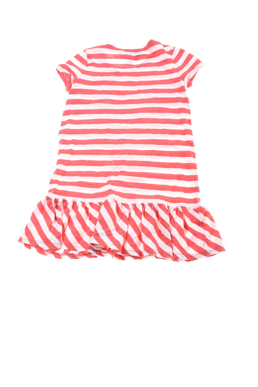 USED Ralph Lauren Girl's Dress Small Red & White