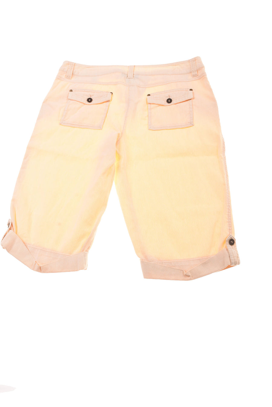 USED Style & Co. Women's Plus Capri Pants 16 Yellow