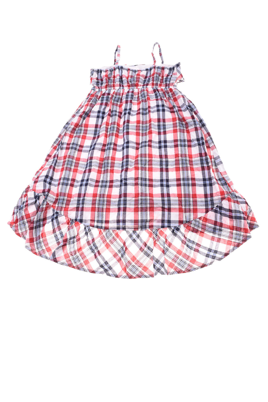 USED The Children's Place Girl's Dress 10/12 Red, White, & Blue