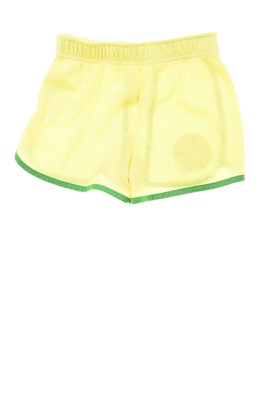 USED Justice Girl's Shorts  8 Yellow & Green