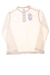 NEW Tommy Bahama Men's Shirt  X-Large Cream