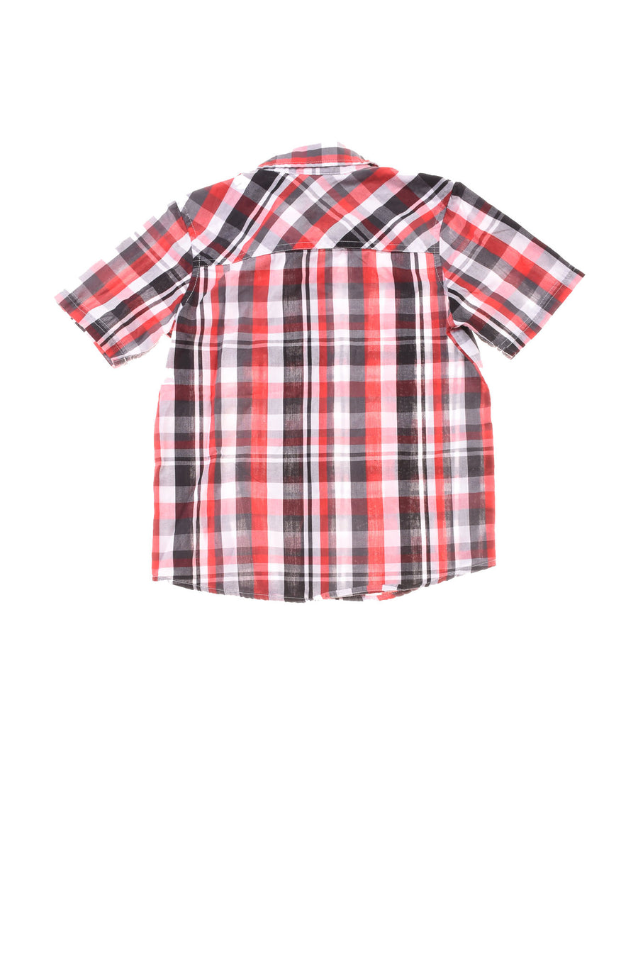 USED Tony Hawk Boy's Shirt 5/6 Black, White, & Red