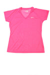 USED Under Armour Women's Top Medium Pink