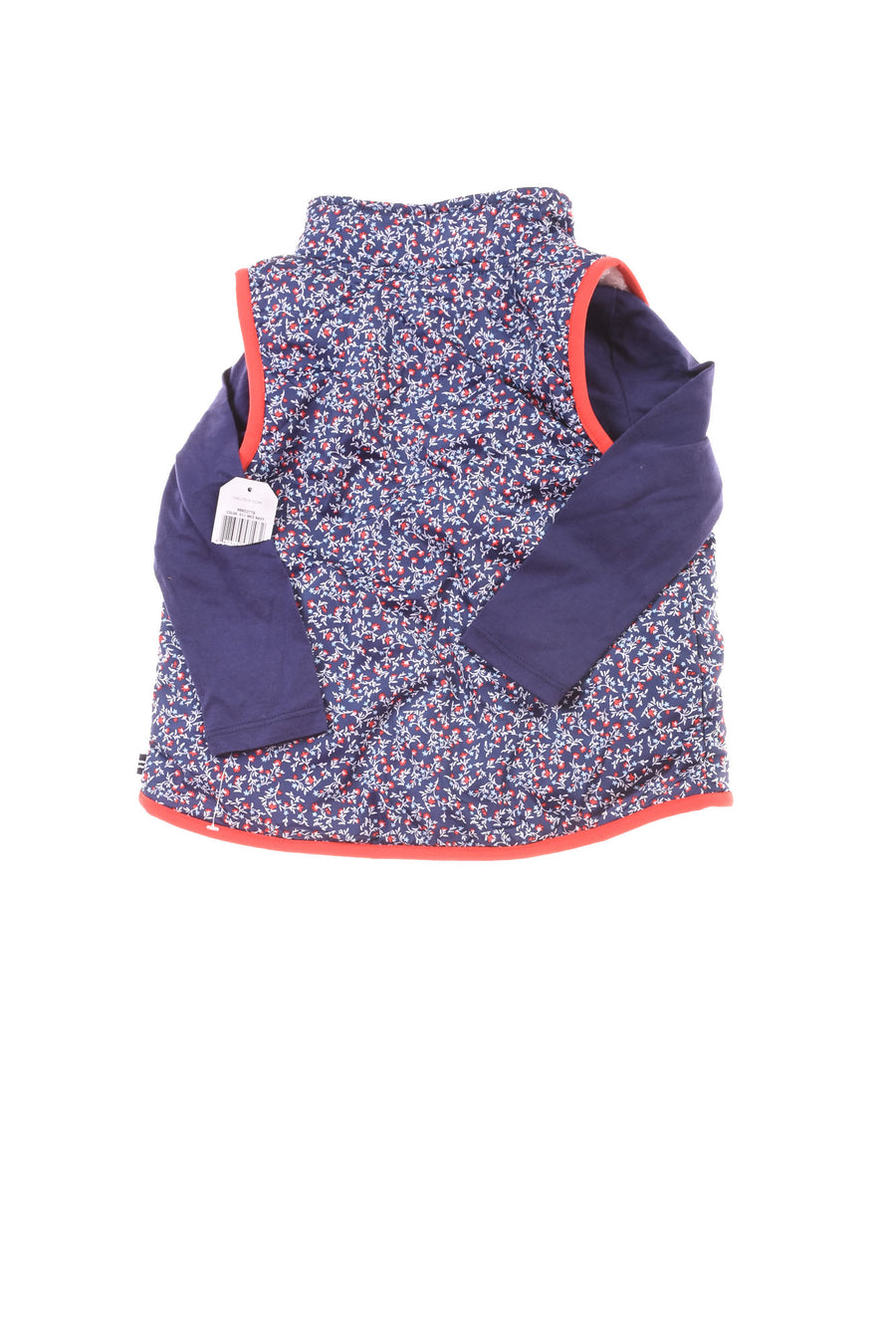 NEW Nautica Toddler Girl's Top  3T Blue & Red