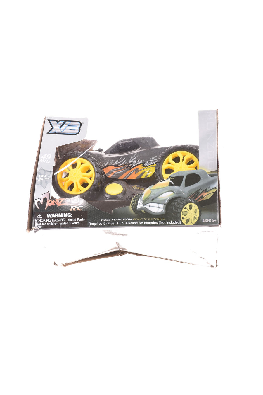 NEW Monzoo RC Remote Control Car N/A Gray & Yellow