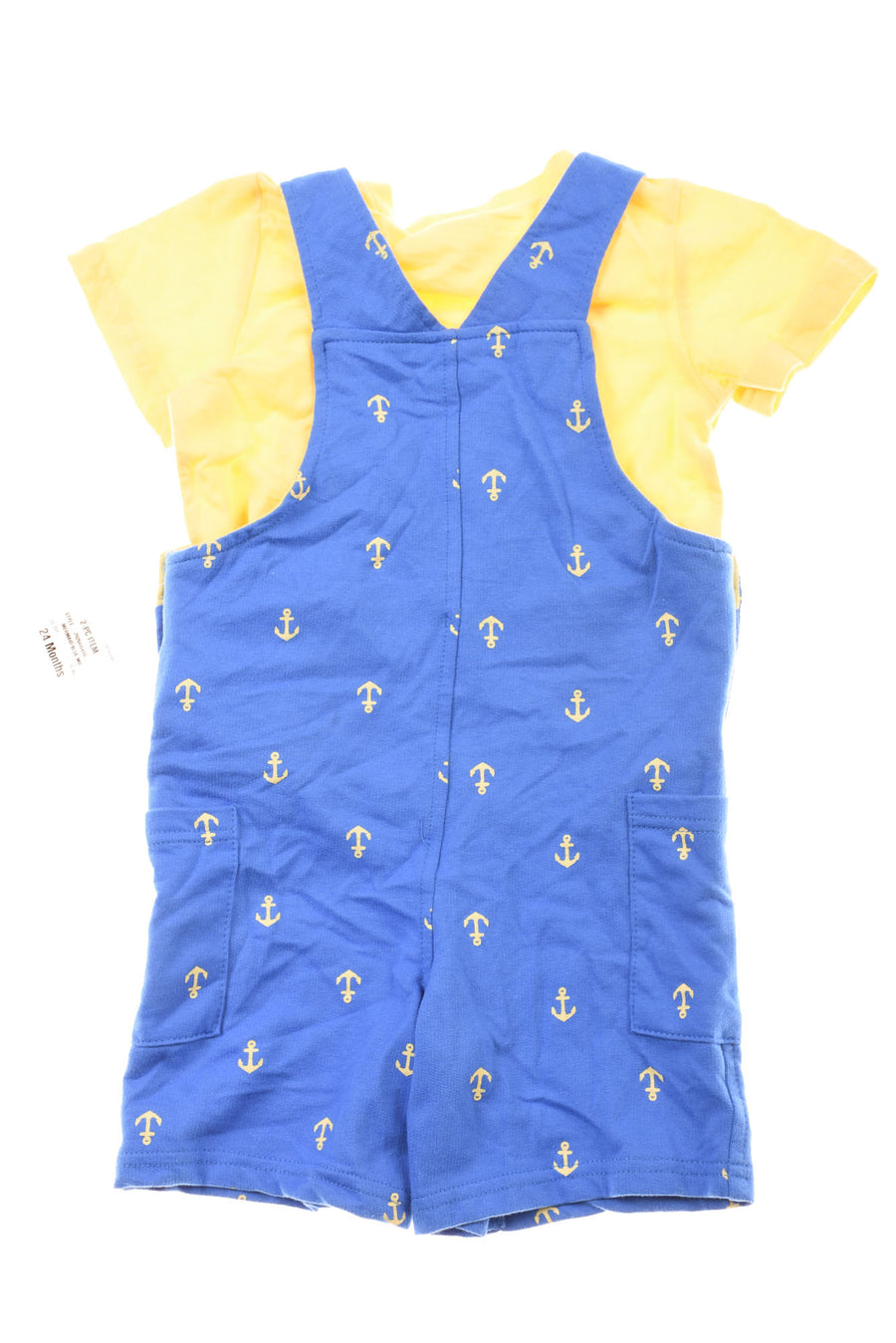 NEW First Impressions Baby Boy's Outfit 24 Months Blue & Yellow