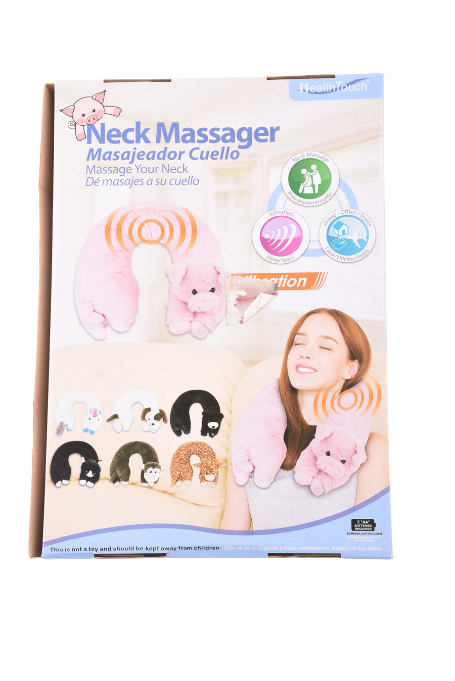 Neck Massager By Health Touch