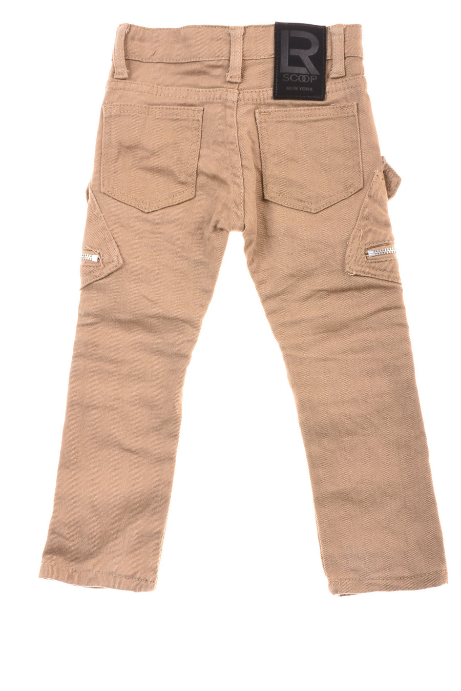 USED R Scoop New York Toddler Girl's Jeans 3T Camel