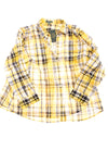 NEW Ralph Lauren Women's Plus Top 2X Yellow