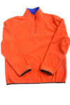 USED Nautica Men's Sweatshirt X-Large Orange & Blue