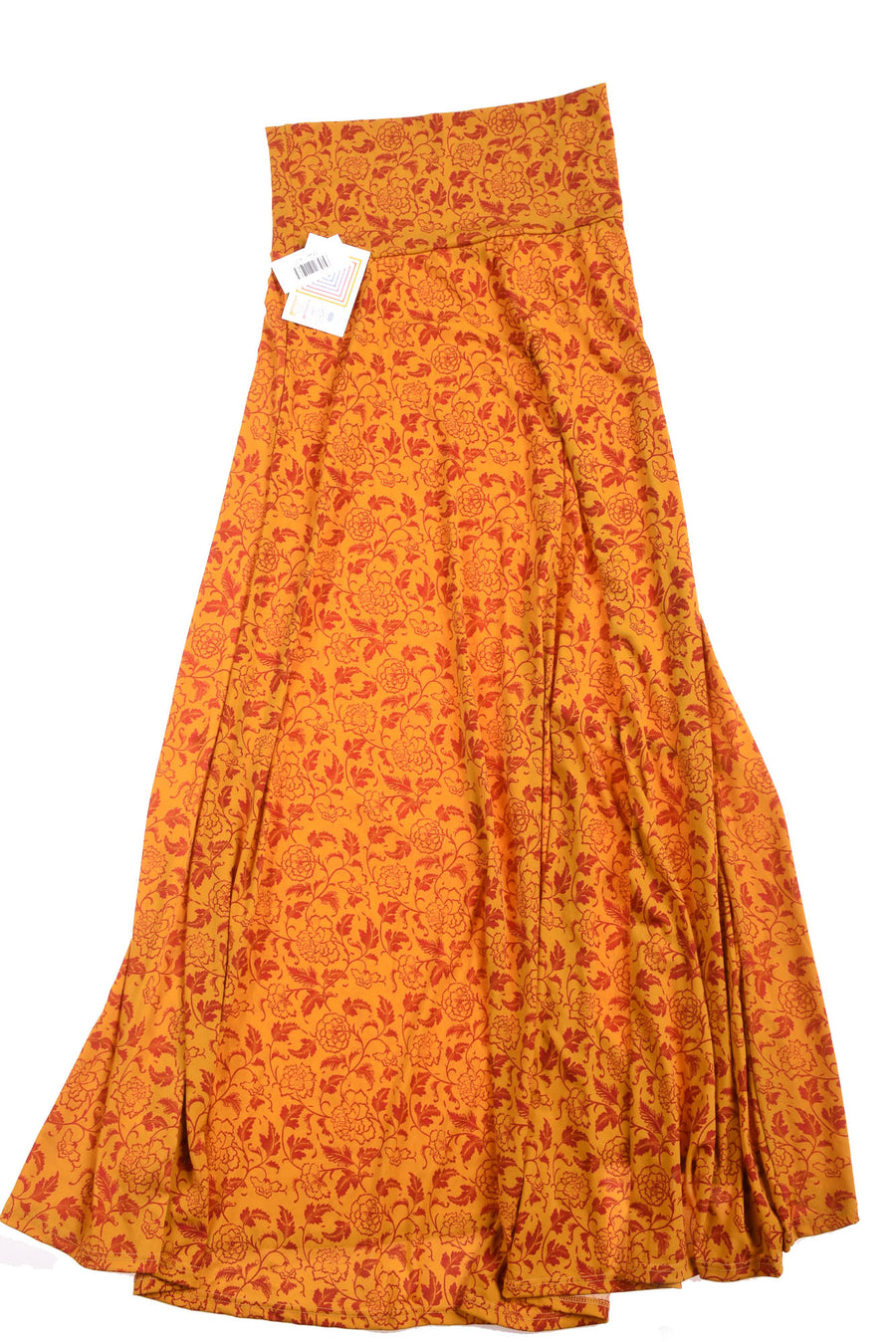 NEW Lula Roe Women's Skirt X-Small Yellow & Red