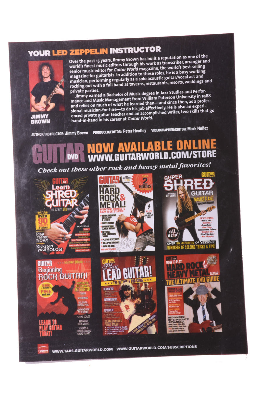DVD Guide for Guitar By Future